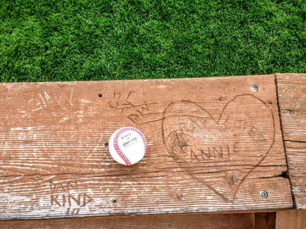 Field of Dreams Bench